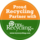 Proud Recycling Partner with Try Recycling.